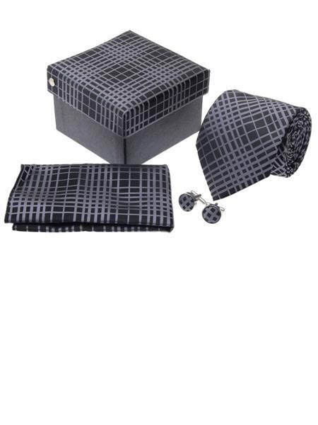 Tosiddos TPTSFN 91 Grey  Mens Necktie