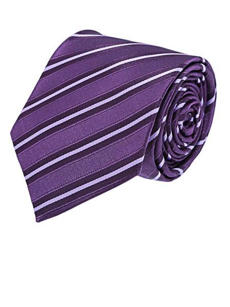 Tosiddos  MFST 308 Purple Mens Necktie