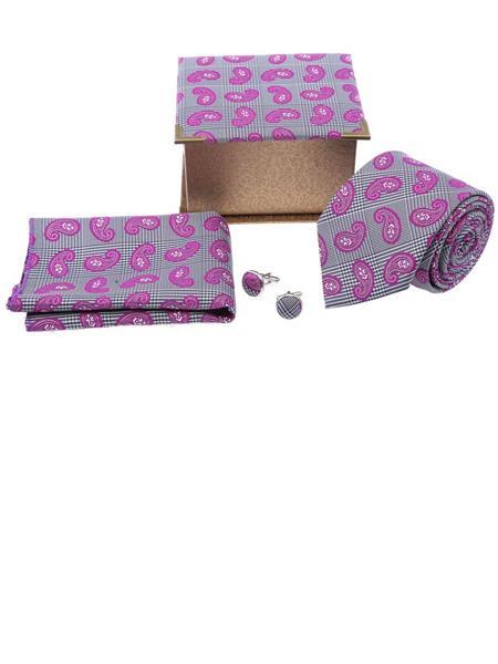 Tosiddos TSG 14 Pink Mens Necktie