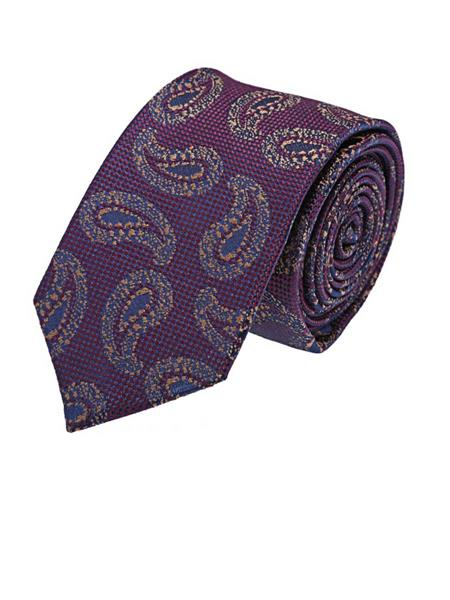 Tosiddos STMF 133 Purple Mens Necktie