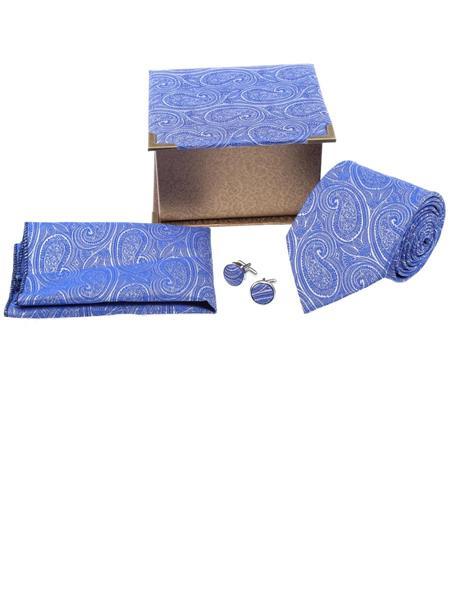 Tosiddos TSG 07 Blue Mens Necktie