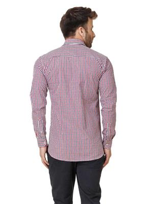 Austin-M 003 Red Men Casual Shirt