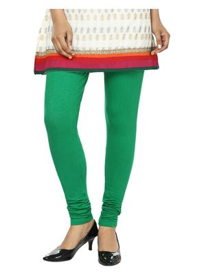 Ananya Fabrics 1000VXR-BGR-005 Green Women Legging