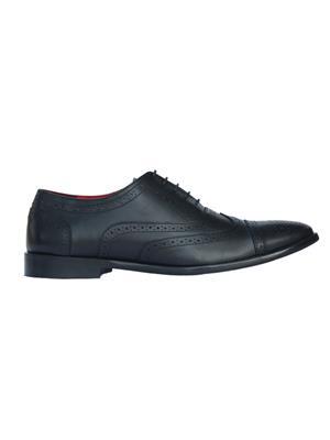 Padatra 1002 Black Men Formal Shoes