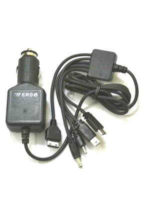 ERD 10061 Black Multi Connector Mobile Car Charger