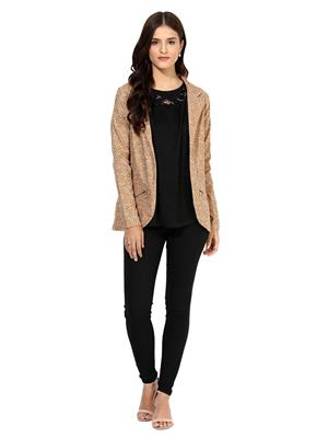 Raindrops 1008B Beige Women Jacket