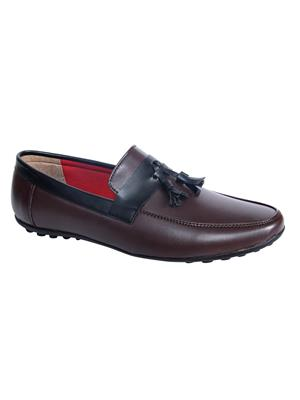 Monkx 1023-17-Brown Men Loafer