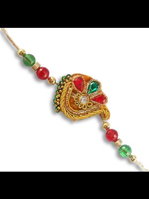 Gupta 1024 Multicolored Silk Rakhi