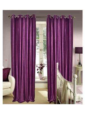 SAI ARPAN 1026-Purple-7-1 Purple Door Curtain