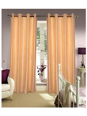 SAI ARPAN 1027-2-CREAM-9FT Beige Door Curtain