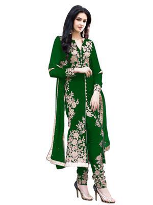 Jenil Fashion 1031A Green Women Salwar Suit