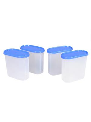 Tupperware 105 Multicolored containers 3 set of 4