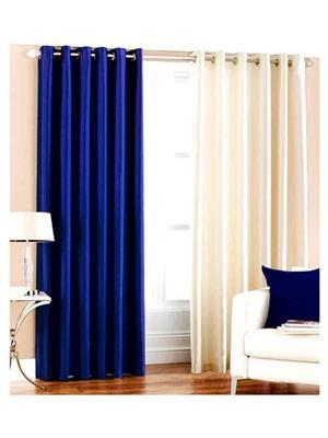 SAI ARPAN 1065-AQW-9FT Multicolor Long Door Curtain