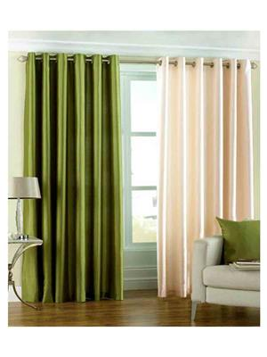 SAI ARPAN 1071-GC-7FT Multicolor Door Curtain