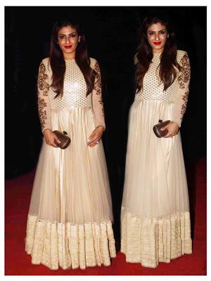 Ethnic Culture 1071 White Women Gown