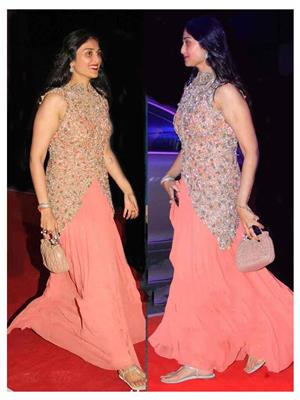 Ethnic Culture 1079 Pink Women Gown