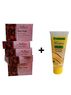 Mxofere 107Rwa Natural Handmade Soap Set Of 6