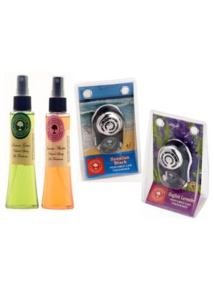 Aromatree 107slsjphpe75751010 Air freshener Car Perfume 10 Ml Set of 4