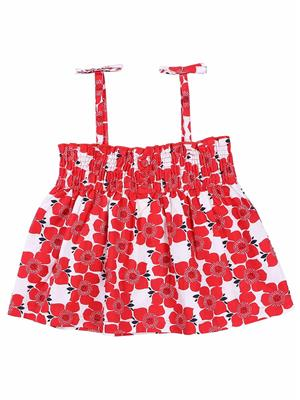 Shopper Tree 112 Red Girls Top