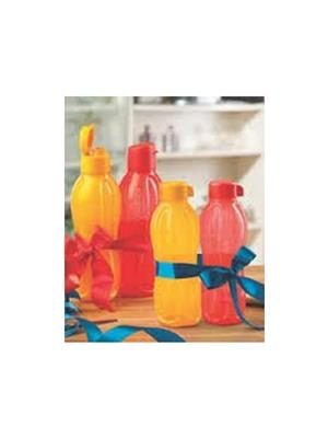 Tupperware 114 Multicolored water bottles 500 Ml 2 Nos, 750 Ml 2 Nos