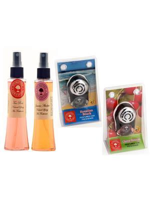 Aromatree 116stsjphpc75751010 Air freshener Car Perfume 10 Ml Set of 4