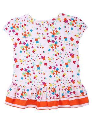 Shopper Tree ST-1191 Multicolored Girls Top