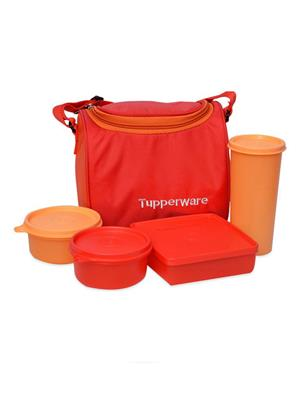 Tupperware 119 Multicolored lunch box