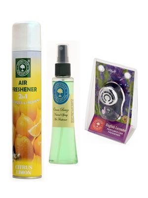 Aromatree 11coe3007510 Air freshener Car Perfume 10 Ml Set of 3