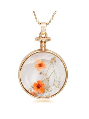 kriaa 1202418 Orange Women Pendant