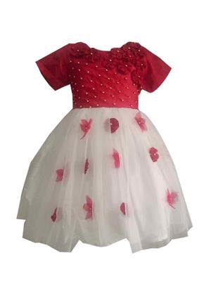 Jungste 1207. White Girl Dress