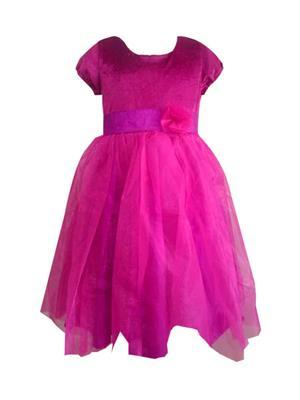Jungste 1213. Pink Girl Dress