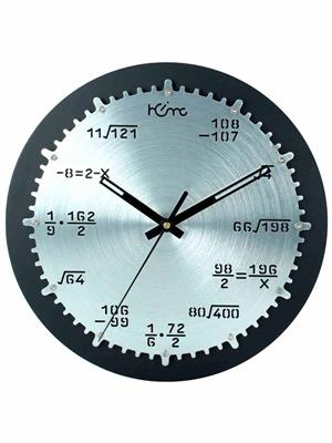 ApolloTime ARCHIMEDES-03  Grey Wall Clock