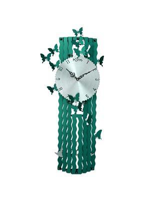 ApolloTime BUTTER SPRING-G  Green Wall Clock