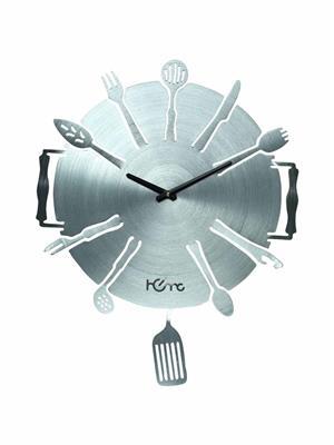 ApolloTime KITCHEN WARE  Grey Wall Clock