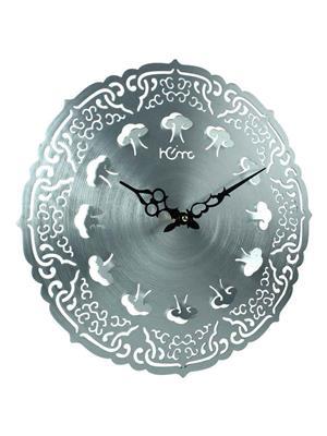 ApolloTime LUCKY CLOUDS  Grey Wall Clock