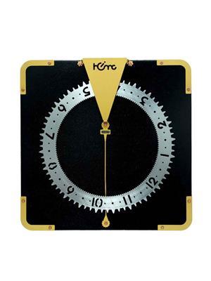 ApolloTime TOP GEAR-06  Black Wall Clock