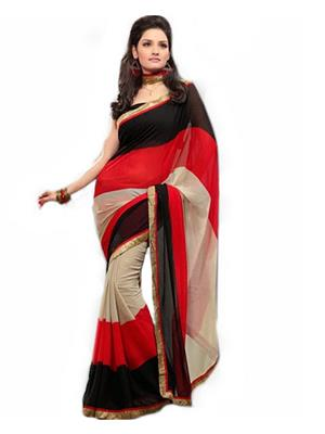 Satya Sita 123 Black Women Saree