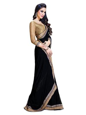 Satya Sita 125 Black Women Saree