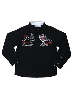 ShopperTree 1261 A Black Boy Casual Shirt