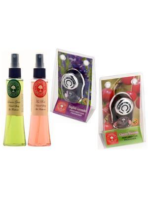 Aromatree 127slstpepc75751010 Air freshener Car Perfume 10 Ml Set of 4