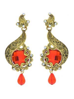 kriaa 1306201 Orange Women Earrings