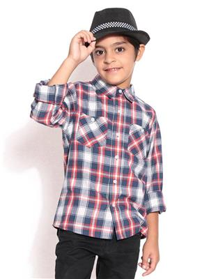 ShopperTree 1329 Multicolored Boy Casual Shirt