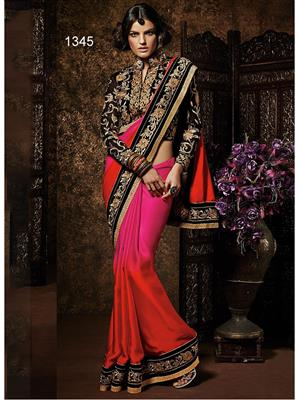 Sri Trendz Pink Saree