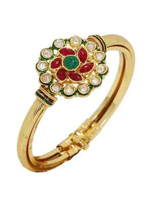 Soni Art Jewellery 135 Golden Women Bangles