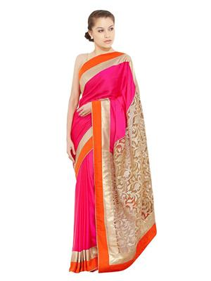 Satya Sita 140 Pink Women Saree