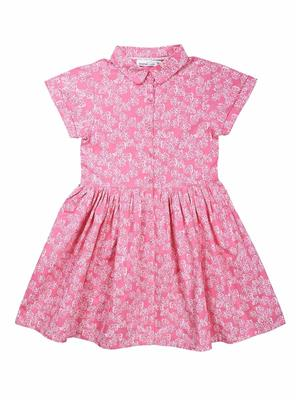 ShopperTree ST-1411 Multicolored Girl Dress