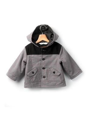 Beebay 142003 Grey Boy Hooded Jacket