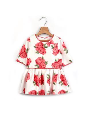 Beebay 142111 White Girl Dresses