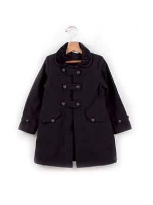 Beebay 142231 Black Boy Overcoat
