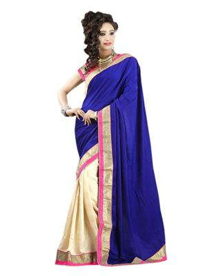 Satya Sita 144 Blue Women Saree
